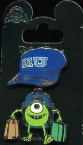Mike Wazowski Monsters University Hat 2 Pin Set Disney Pin Ebay