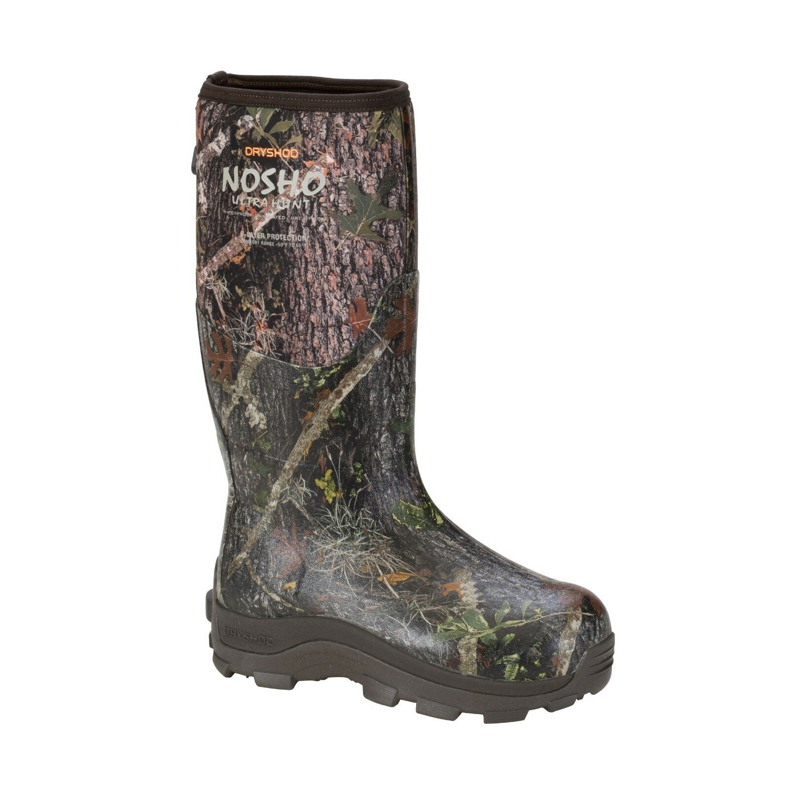Dryshod NO SHO Ultra Hunt Muck Style Camo Hunting - Best Hunting Boots