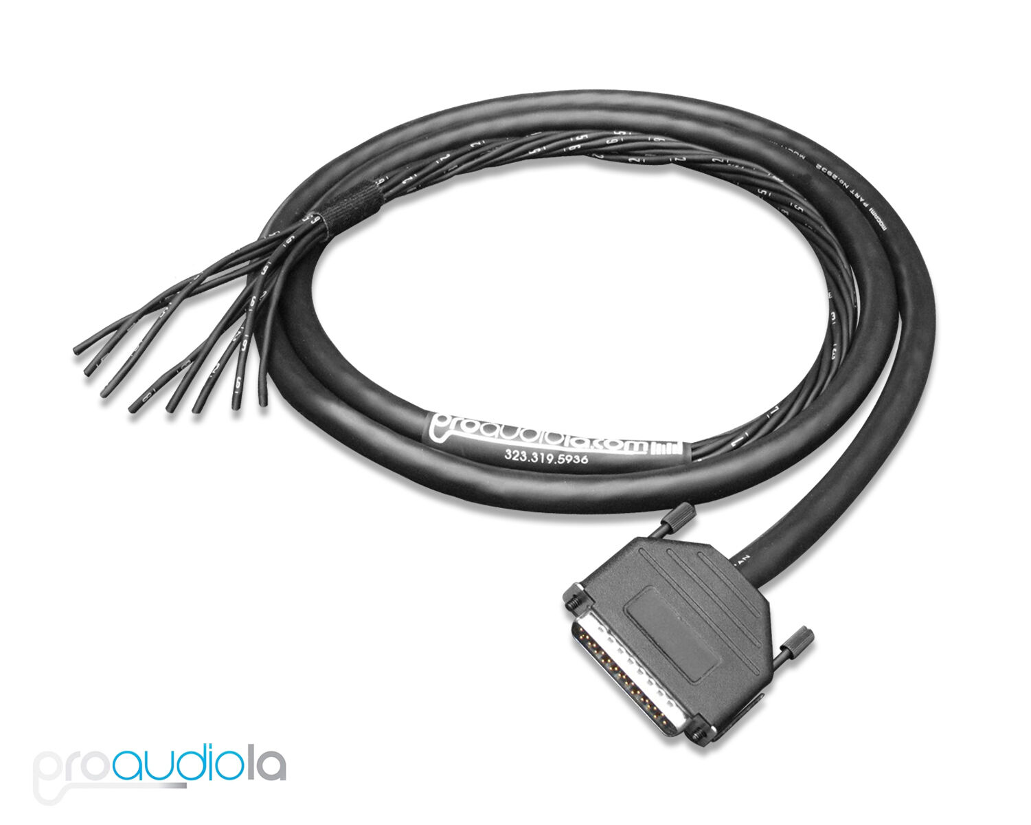 Standard Mogami 2932 Gold Db25 D Sub Snake Bare Pigtails 2 Ft To Usb Cable Schematic