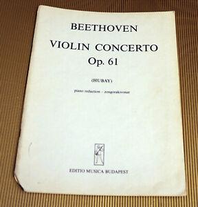 Beethoven-Violin-Concerto-Op-61-Noten-fuer-Violine-und-Klavier