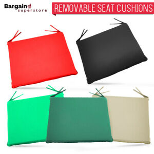 Tie-On-Kitchen-Dining-Chair-Seat-Pads-Cushions-Zipped-Garden-Patio-1-2-4-6-x