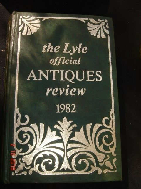 Antiques review 1982, The LYLE official , good condition