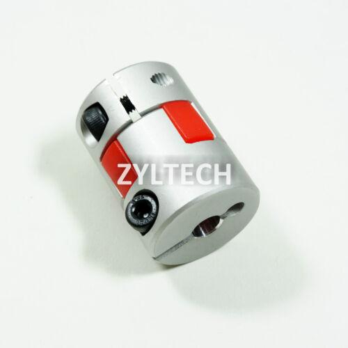 Flexible Plum Coupling Shaft Premium Coupler for 3D Printers /& CNC 5mm//10mm