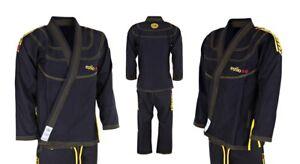 Tatami-Estilo-5-0-BJJ-Black-GI-Kimono-Brazilian-JiuJitsu-Suit-Blue-Adult-Uniform