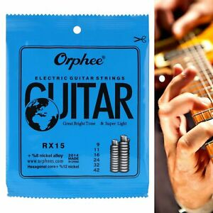Orphee-RX15-Electric-guitar-strings-set-09-42-8-Nickel-alloy