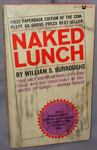 Naked Lunch by William Burroughs, First Edition, First Issue