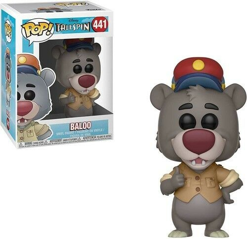 TaleSpin - Baloo - Funko Pop! Disney (2018, Toy NEUF)