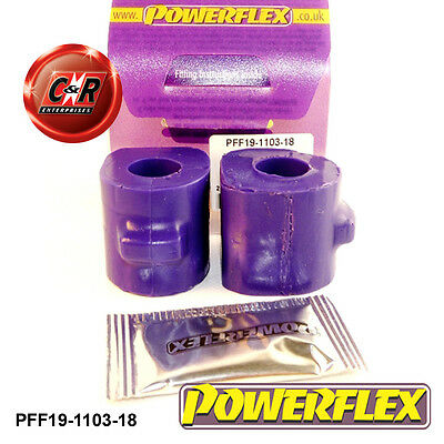 Logico Powerflex Ford Anteriore Anti Roll Bar Cespugli 18mm Pff19-1103-18- Imballaggio Di Marca Nominata