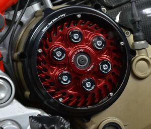 Ducati-embrague-embrague-tapa-tapa-034-Pollux-034-negro-nuevo-clutch-cover-New