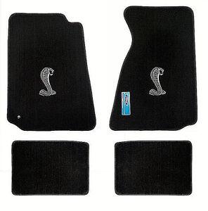Lloyd heavy plush cobra logo floor mats 94 04 mustang for 04 cobra floor mats