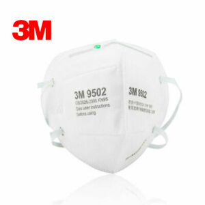 5/10PCS 3M 9502+ FFP2 KN95 Mask PM2.5 Protective Face Masks Mouth cover