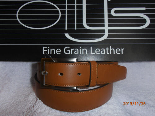 "Men/'s Black Brown Tan Véritable cuir pleine fleur ceinture par Ollys 1.25/"" style Duke"