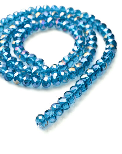 Hot 100pc Beautiful 6mm Crystal Loose Beads DIY Jewelry