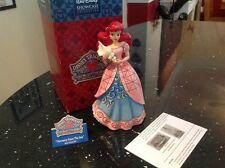 "very very rare disney tradition 'princess arial musical sonata' boxed 6"""