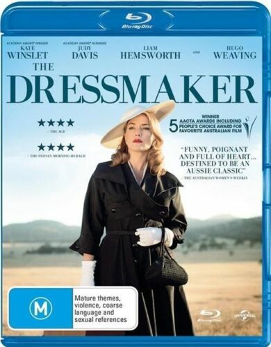 1 of 1 - The Dressmaker (Blu-ray, 2016) New & Sealed