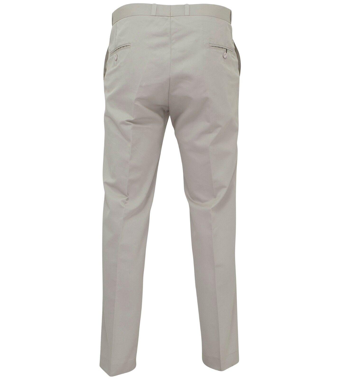 Relco Mens Stay Press Stone Beige Trousers Sta Press Retro Retro Retro Mod Skin Ska VTG | Luxus  | Gute Qualität  | Kaufen Sie beruhigt und glücklich spielen  | Schön In Der Farbe  | Zu verkaufen  b92e39