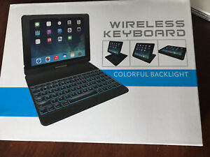 Yekbee-Keyboard-Case-Re-Apple-iPad-6-5-Pro-9-7-Air-1-2-Bluetooth-Gold-backlight