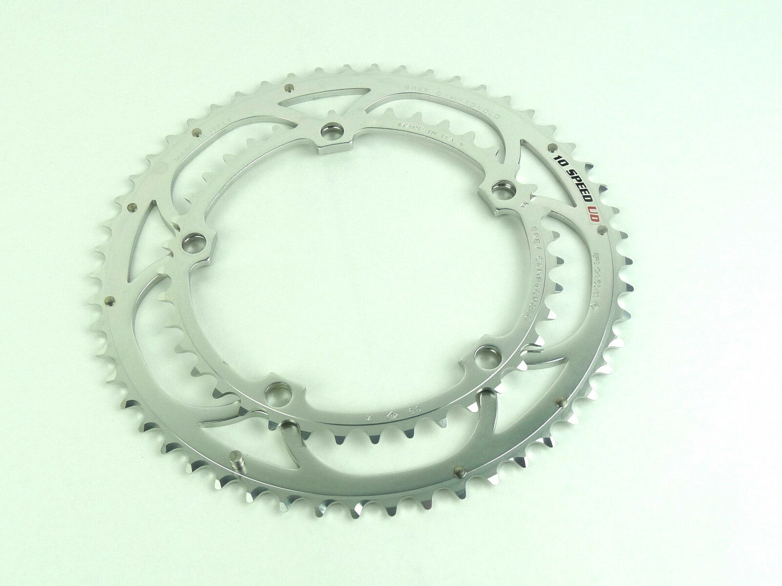Campagnolo Record 10 speed Chainring set 53 39T Road Bike Ultra Drive NOS