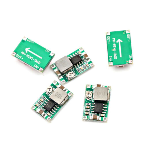 5x//set Mini 3A DC Adjustable Converter Step Down Power Supply Replace LM259 Ii