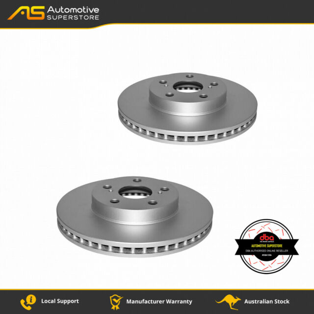 DBA2752E Brake Disc Rotor Pair En-Shield Street DBA