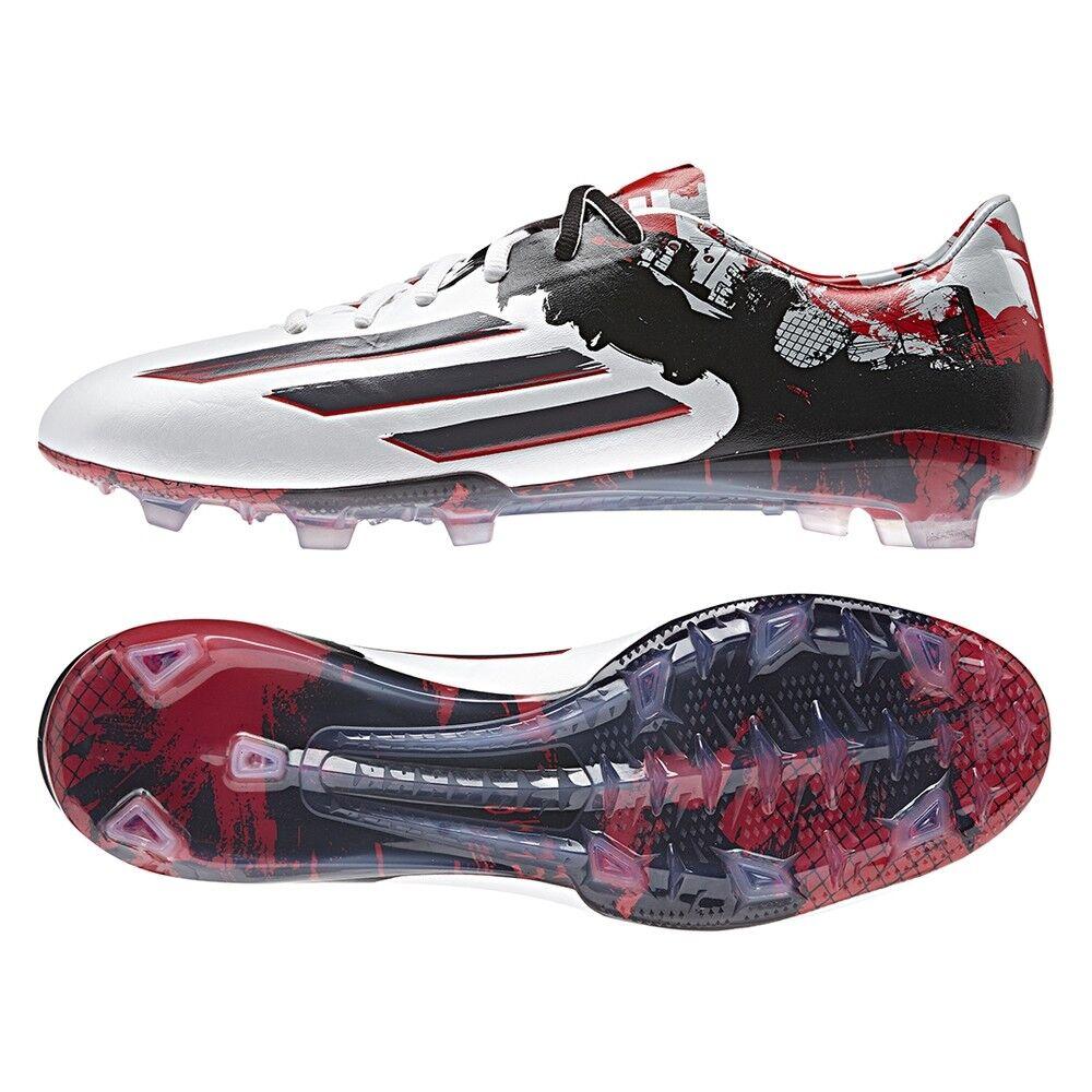 Adidas Messi Pibe De Barrio 10.1 Fg Herren Fußball Weiß Granit Skarlet B23767