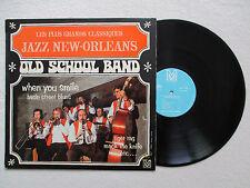 """LP 33T OLD SCHOOL BAND """"Les plus grands classiques du jazz New Orleans"""" §"""