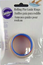 20 in. Rolling Pin Guide Rings from Wilton #1010 - NEW