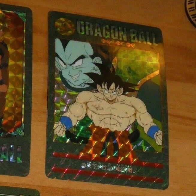 Dragon ball z gt dbz hervorruft, visuellen abenteuer teil 2 - prisma carte 47 japan 1991