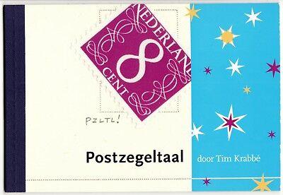 Abundante Nederland Pr5 Prestigeboekje Postzegeltaal 2004 Pf