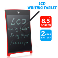 """8.5"""" LCD eWriter Tablet Writting Drawing Pad Memo Message Boards"""