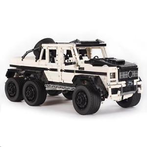 Tech-Offroad-Car-Jeep-cx-42056-42083-42099-42110-Building-Blocks-Bricks-MOC