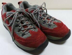 100% Vrai Women's Pacific Trail Bordeaux/gris Baskets Randonnée Chaussures De Marche Taille 9 1/2 M-afficher Le Titre D'origine
