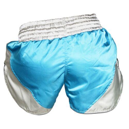 Pantaloncini MUAY THAI Boxe MMA Kick Fight Grappling UFC Gabbia Combattente Kids