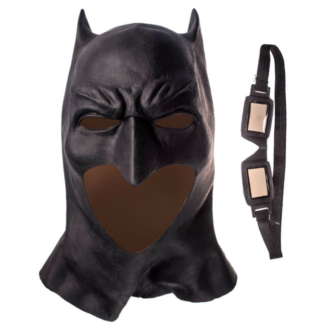 New Justice League Batman Cosplay Tactical Mask The Dark Knight Adult Mask Props