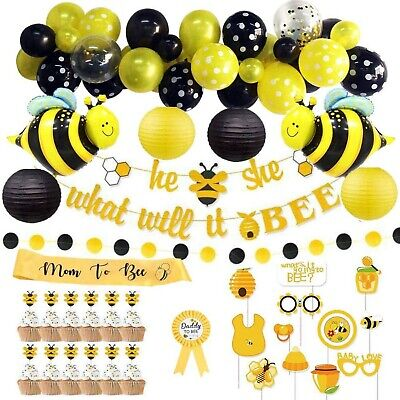 Bumble Bee Balloon  Bumble bee party  Bumble bee theme  Bumblebee  baby shower  baby shower balloons gender reveal