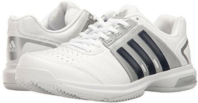 adidas Barricade Approach Str White Black Mens Tennis Shoes