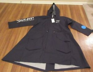 Details about Nike x Off White World Cup Jacket Size Large Black Football Mon Amour AA3256 010