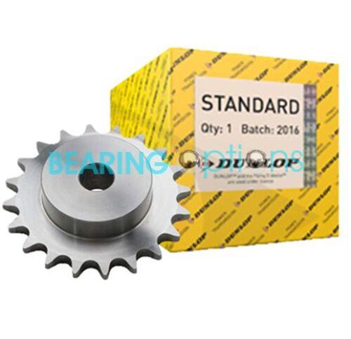 4sr 08b-1 (Dunlop) Cadena de acero piñón de 1/2 Pitch Bs Bore - 8t a 38t