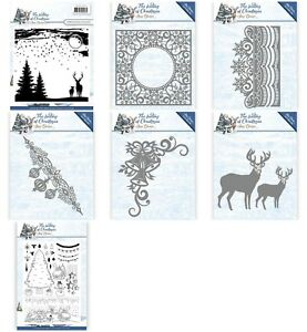 Amy-Design-Dies-The-Feeling-Of-Christmas-Reindeer-Snowflakes-New-Out