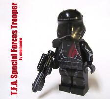 LEGO custom -- Special Forces Stormtrooper -- star wars mini figure TFA shadow