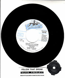 ELVIS-PRESLEY-Follow-That-Dream-amp-When-My-Blue-Moon-Turns-To-Gold-Again-45-NEW