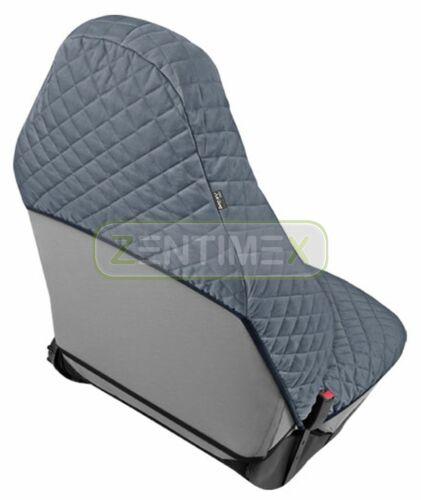 Housse de siège klimatisierend Gris pour Renault 16 r16 Hayon Hatchback 5-porte 09