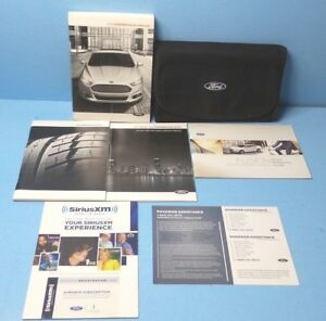 ford fusion owners manual  navigationsync ebay