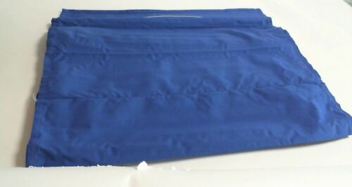 60cm Width 175cm Drop #20E140 Blue Roman Blind