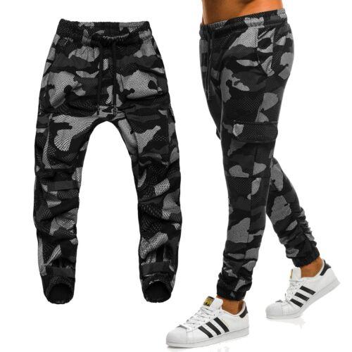 OZONEE Pantaloni Uomo Jogging Pantaloni Chino Pants Pump Pantaloni Jogger Militare Mimetico MIX