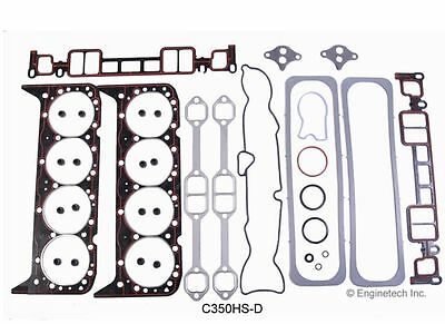 Chevrolet 5.7L Vortec 350 Head Gasket Set WITH HEAD BOLTS Chevy Gasket kit