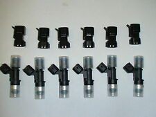 6 NEW Bosch EV14 60lb 630cc fuel injectors for Nissan 350Z 370Z Maxima G35 G37
