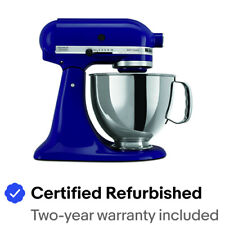 KitchenAid Stand Mixer tilt 5-Quart RRK150BU Artisan 10 SPEED, Cobalt Blue