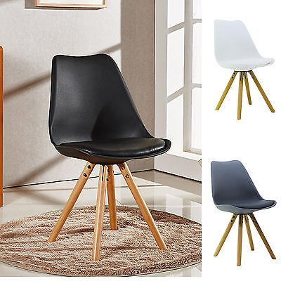 Fantastic Sophie Piramide Dining Chair With Seat Pad Scandinavian Theyellowbook Wood Chair Design Ideas Theyellowbookinfo
