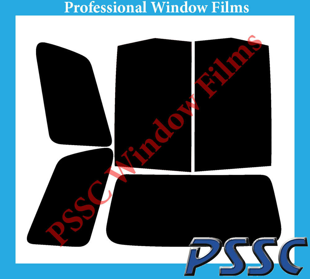 PSSC Pre Cut Rear Car Window Films - Toyota Previa MPV 2000 to 2006